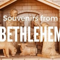 Souvenirs from Bethlehem West Bank Holy Land