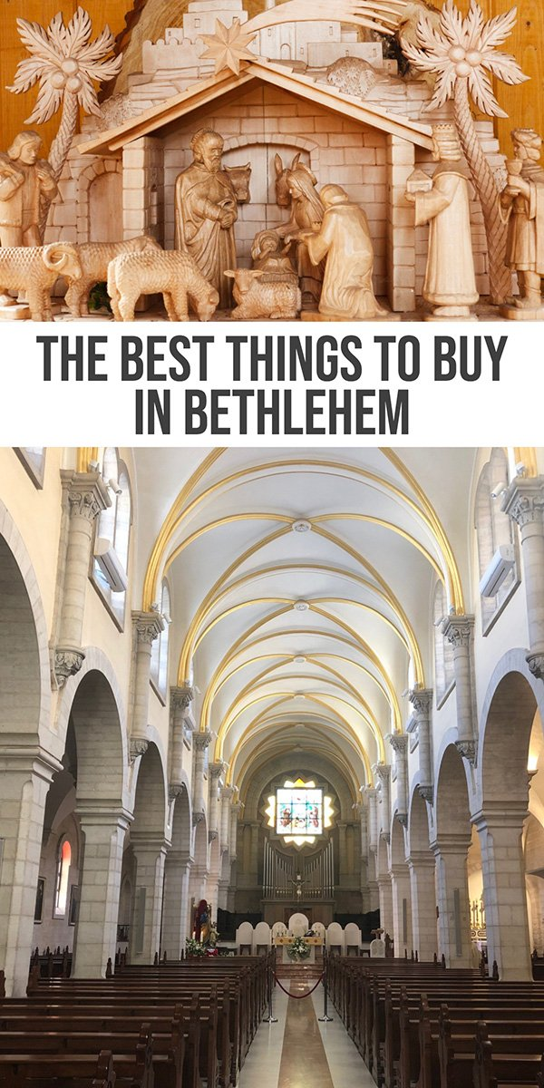 best things to buy in Bethlehem souvenirs