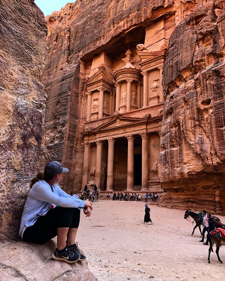 Petra Treasury Instagram Spot