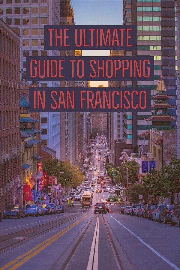 Things to buy in San Francisco