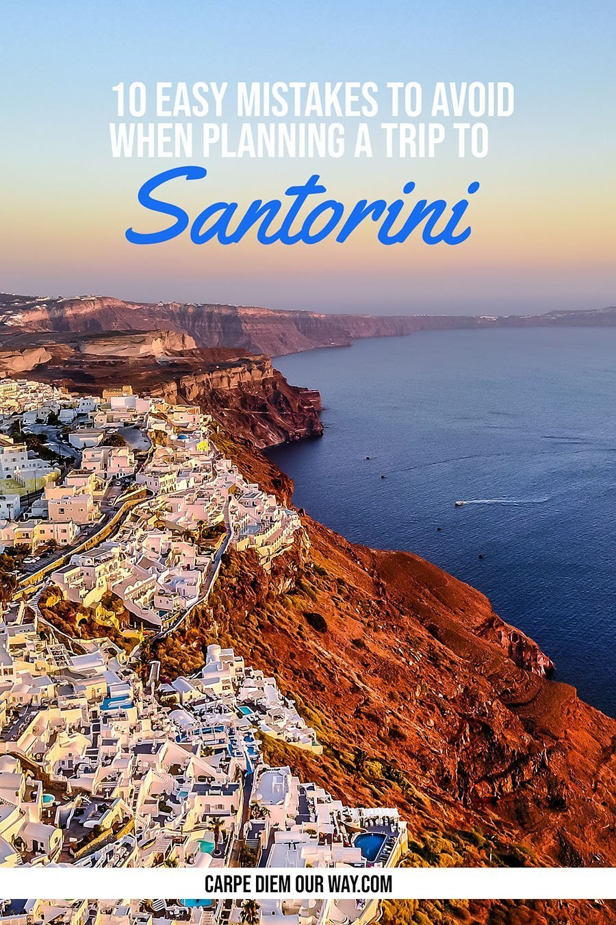 Planning a Trip to Santorini