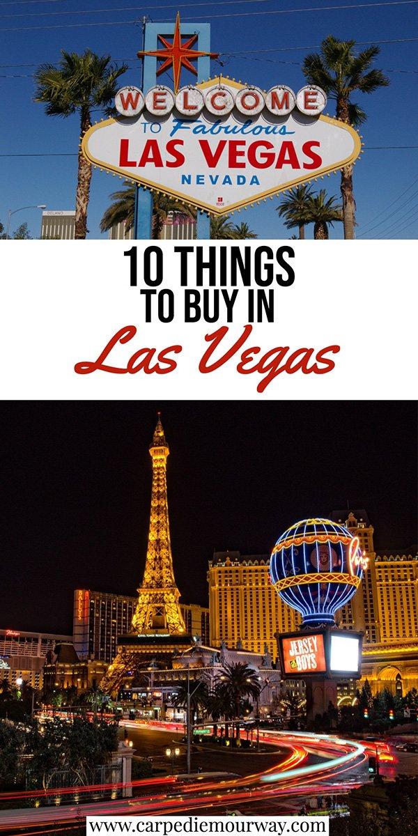 Trip to Las Vegas Souvenirs