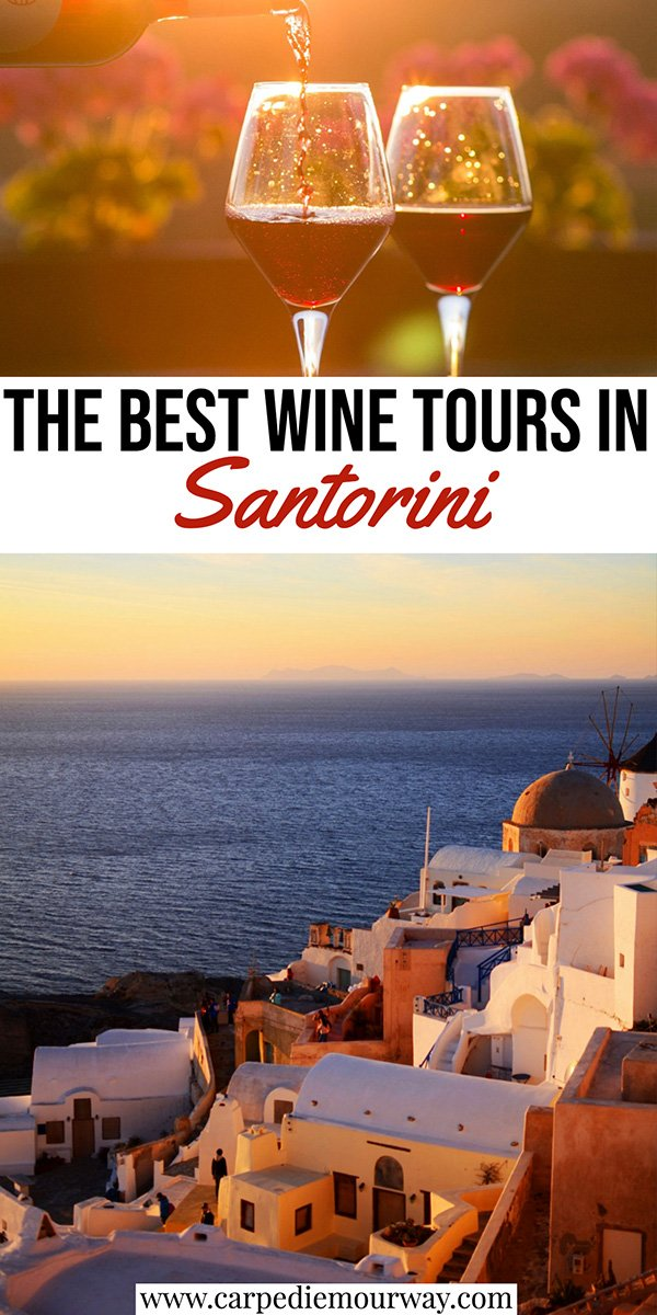 santorini wine tours