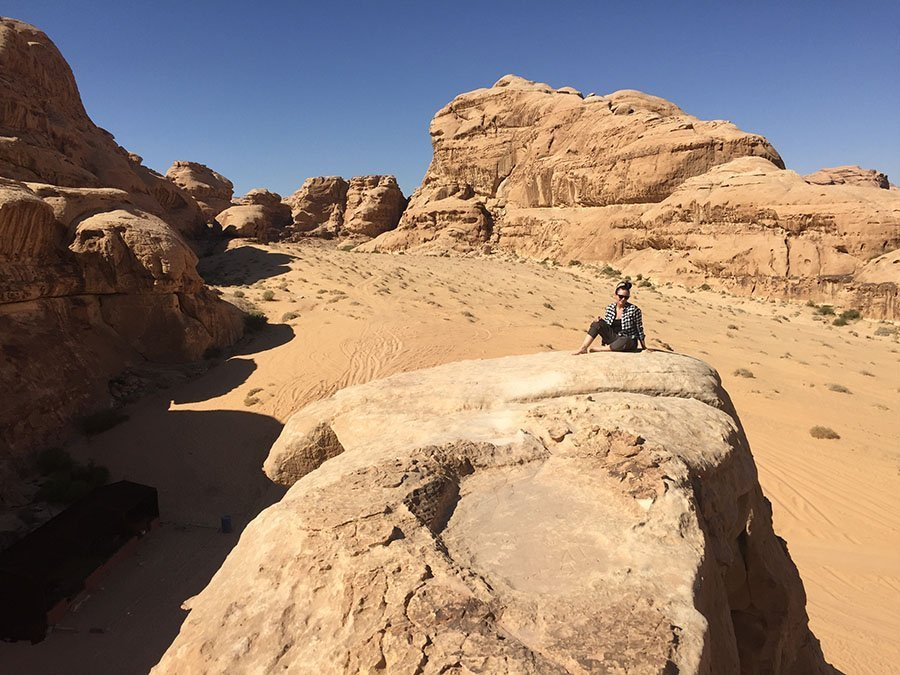 Wadi Rum Hiking in Jordan