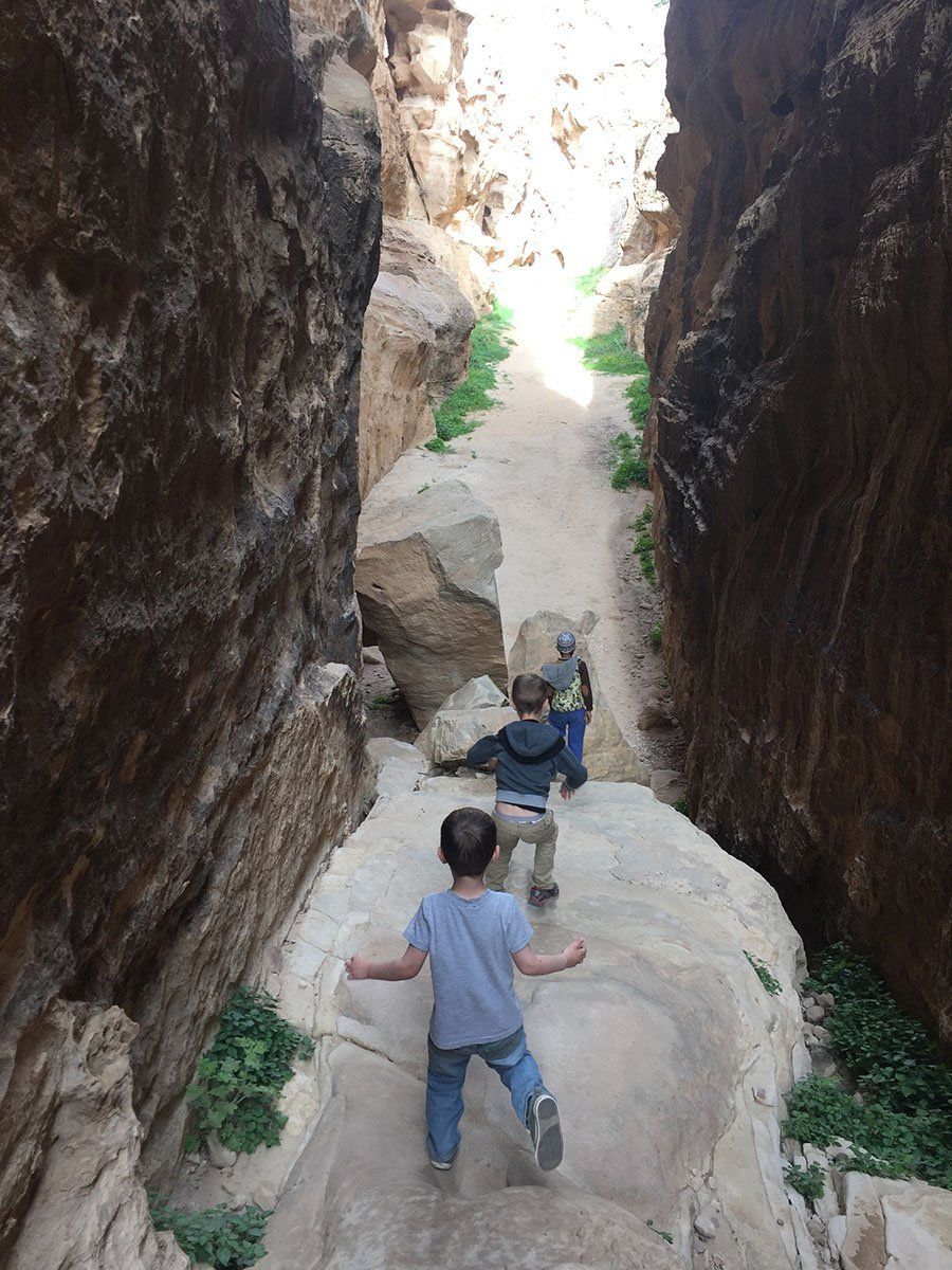 Petra Hiking in Little Petra