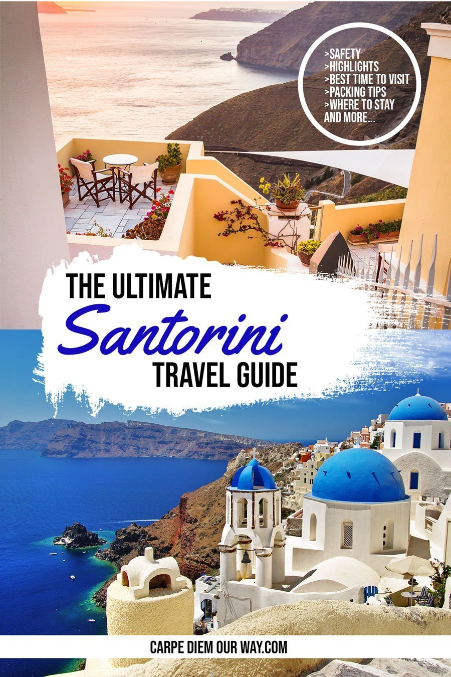 Santorini Blog and Travel Guide