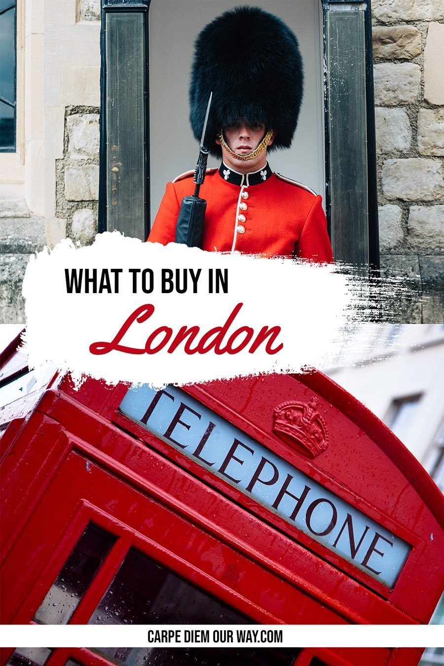 What to buy in London | Souvenirs from London