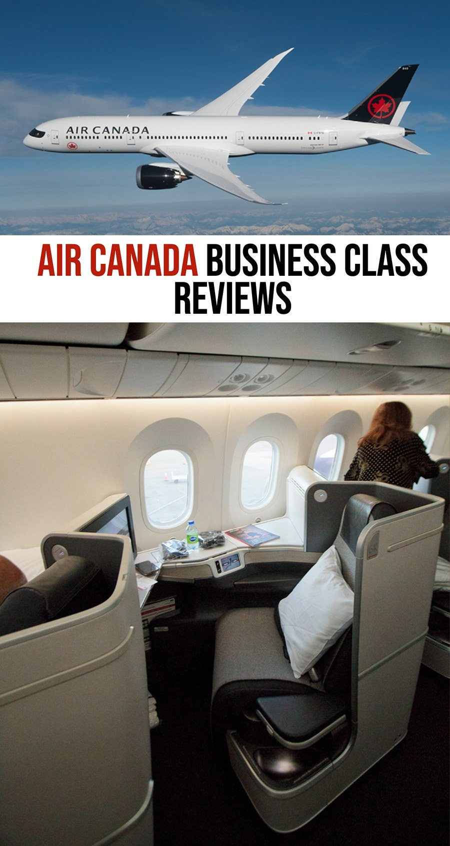 Air Canada Business Class Reviews