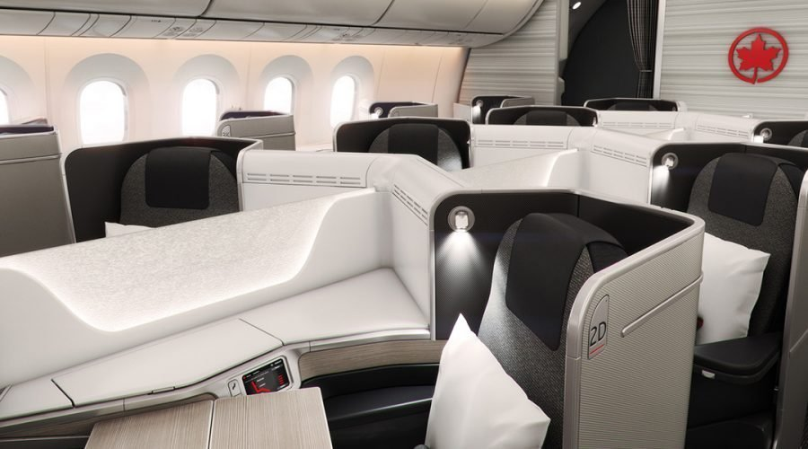 Air Canada Business Class Review 787
