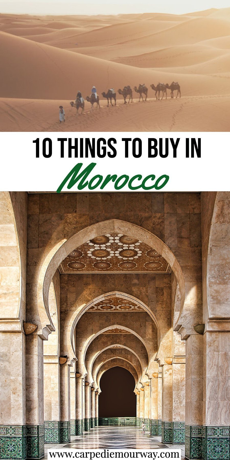 Things to Buy in Morocco