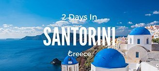 2 days in Santorini