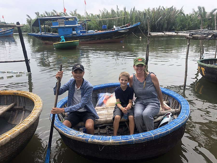Basketboat in Hoi An