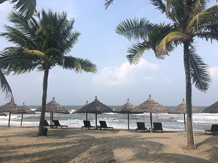 Hoi An Beach Resort in November