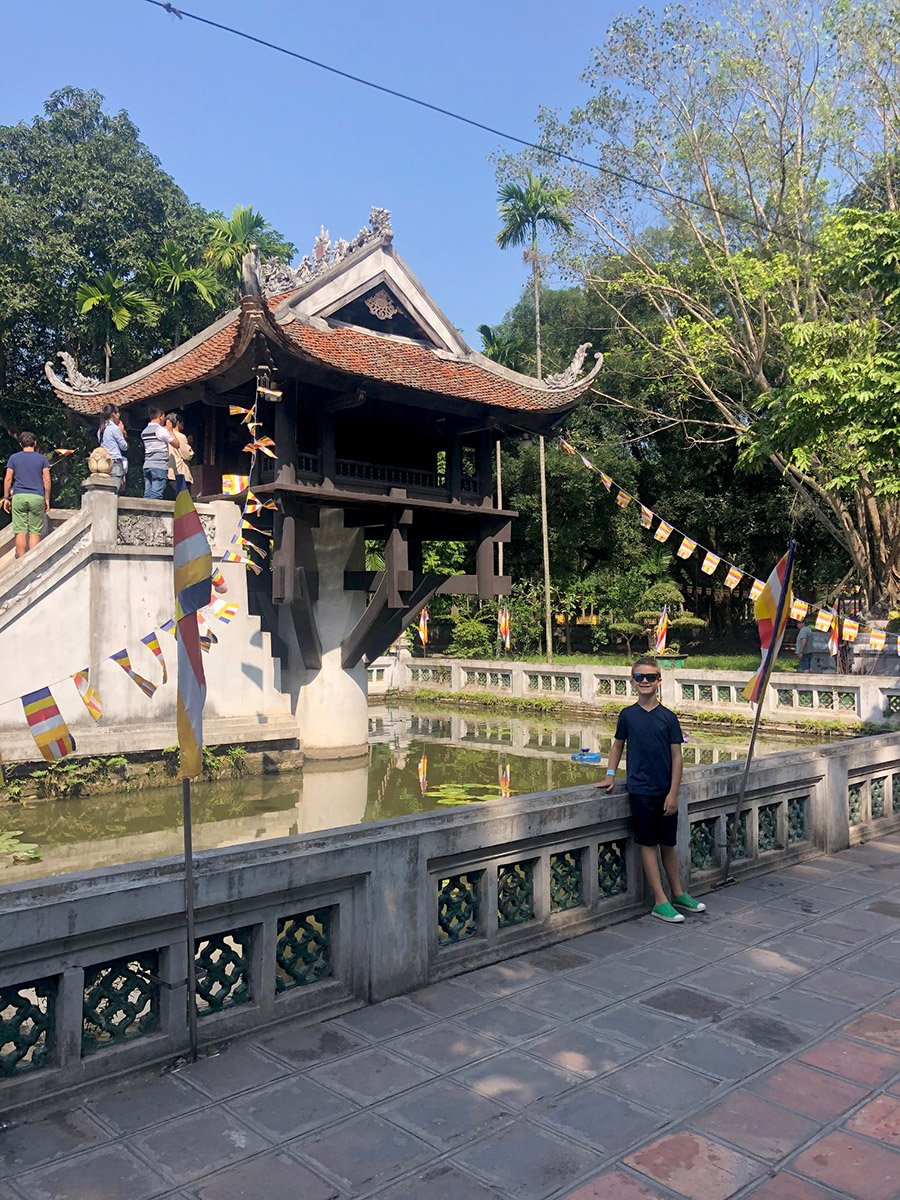 10 days vietnam Itinerary One Pillar Pagoda in Hanoi