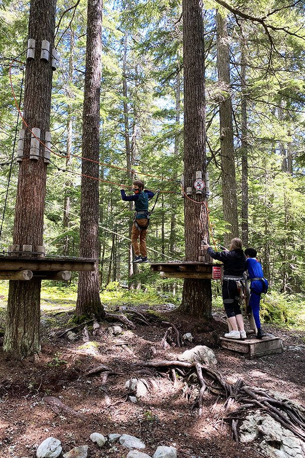 Learning Course Treetop Adventures Whistler