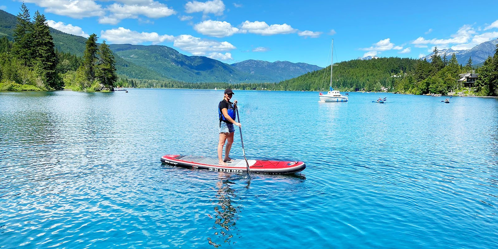 Whistler Stand Up Paddle Boarding Rentals