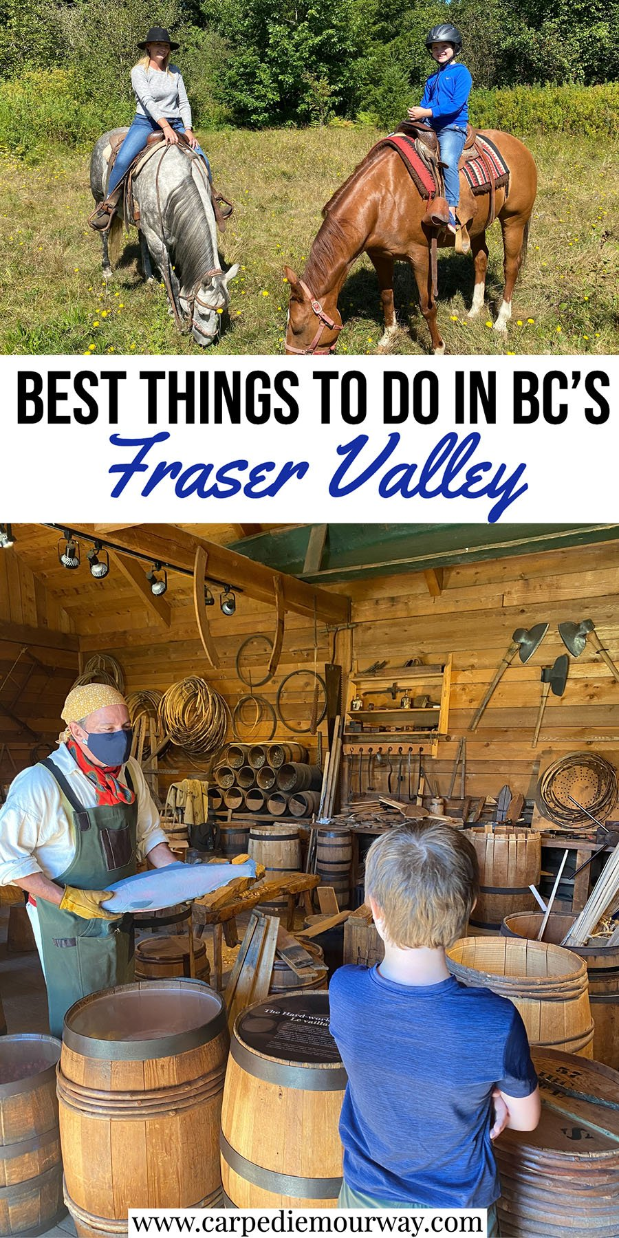 Things to do in the Fraser Valley BC