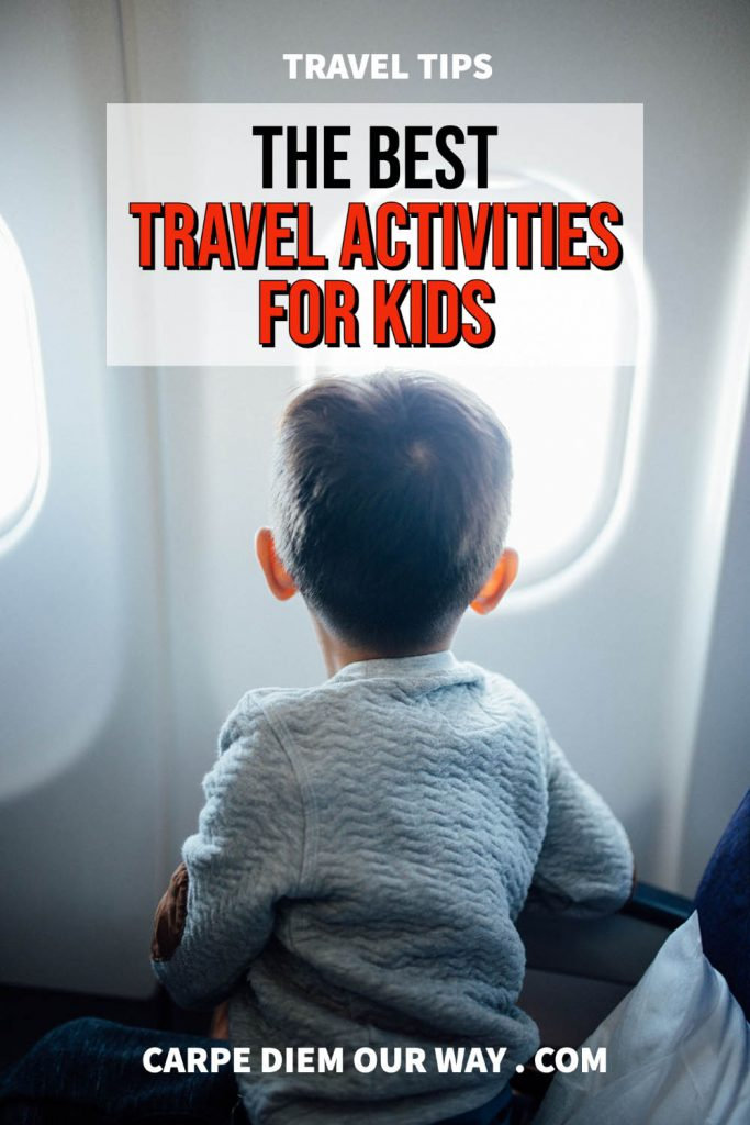 Airplane Activities for Kids on a plane.