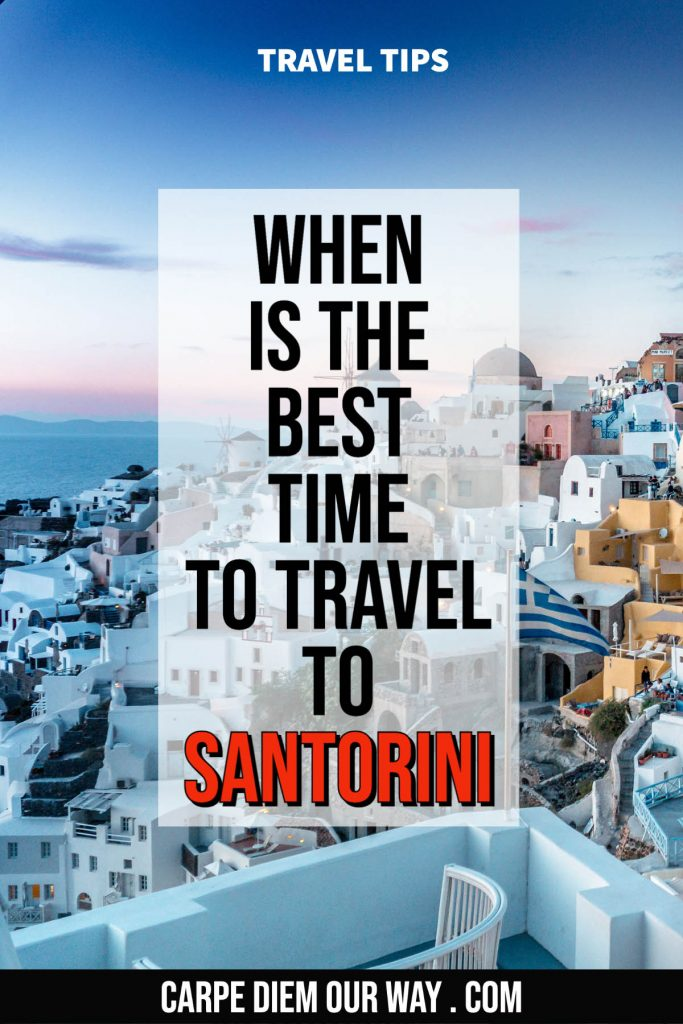 best time to visit santorini greece