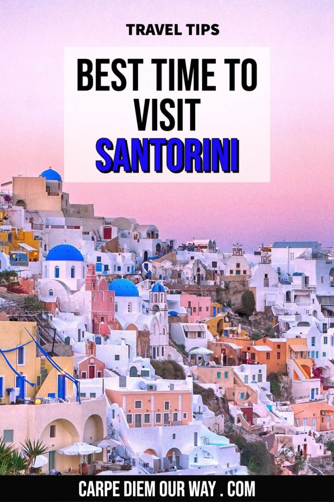 best time to go to Santorini