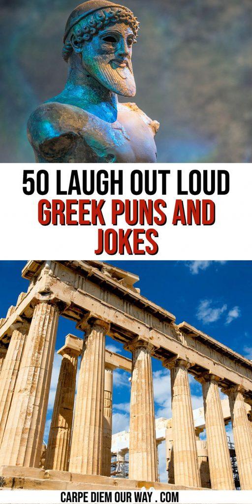Greek puns.