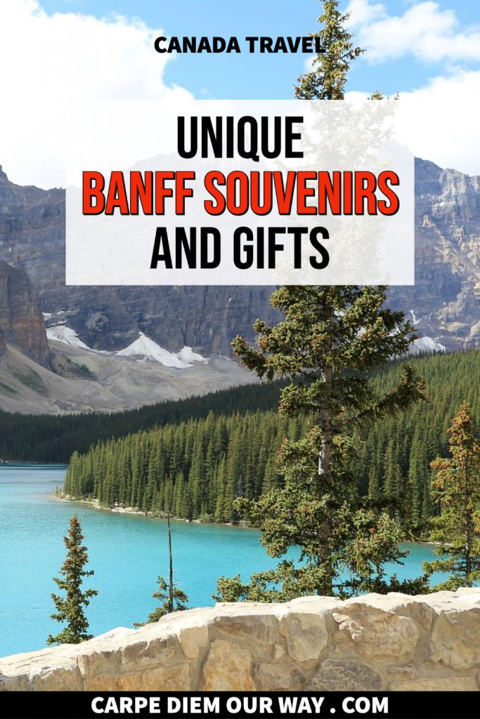 Things to buy in Banff souvenirs.