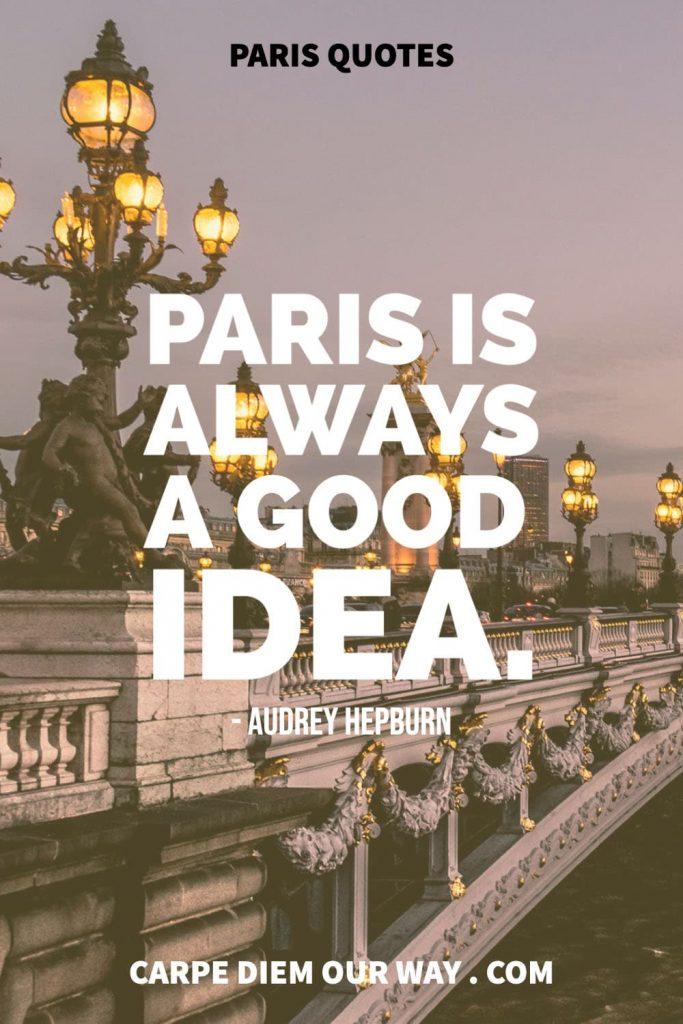 Instagram Captions about Paris.