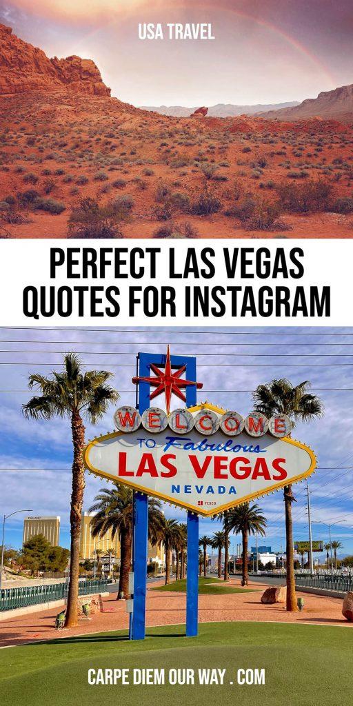 Las Vegas quotes for instagram.