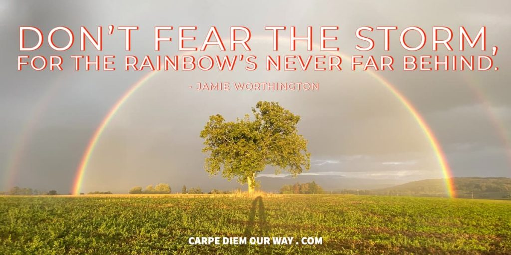 Rainbow IG captions.