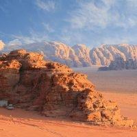 Desert Instagram Captions (Wadi Rum Jordan).