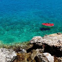 Sea Captions for Instagram - Aegean Sea in Greece