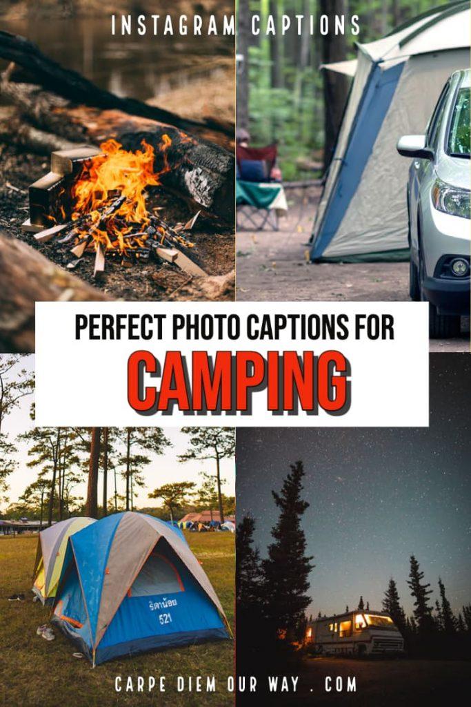 camping instagram captions
