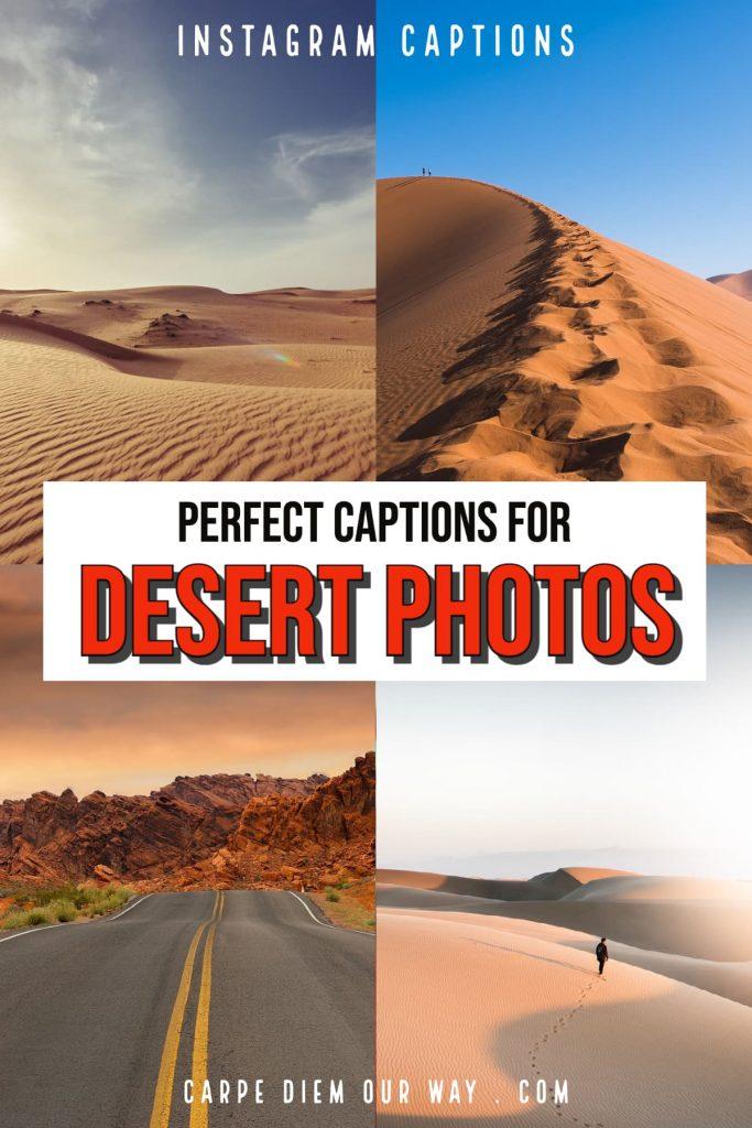 perfect desert captions for instagram.