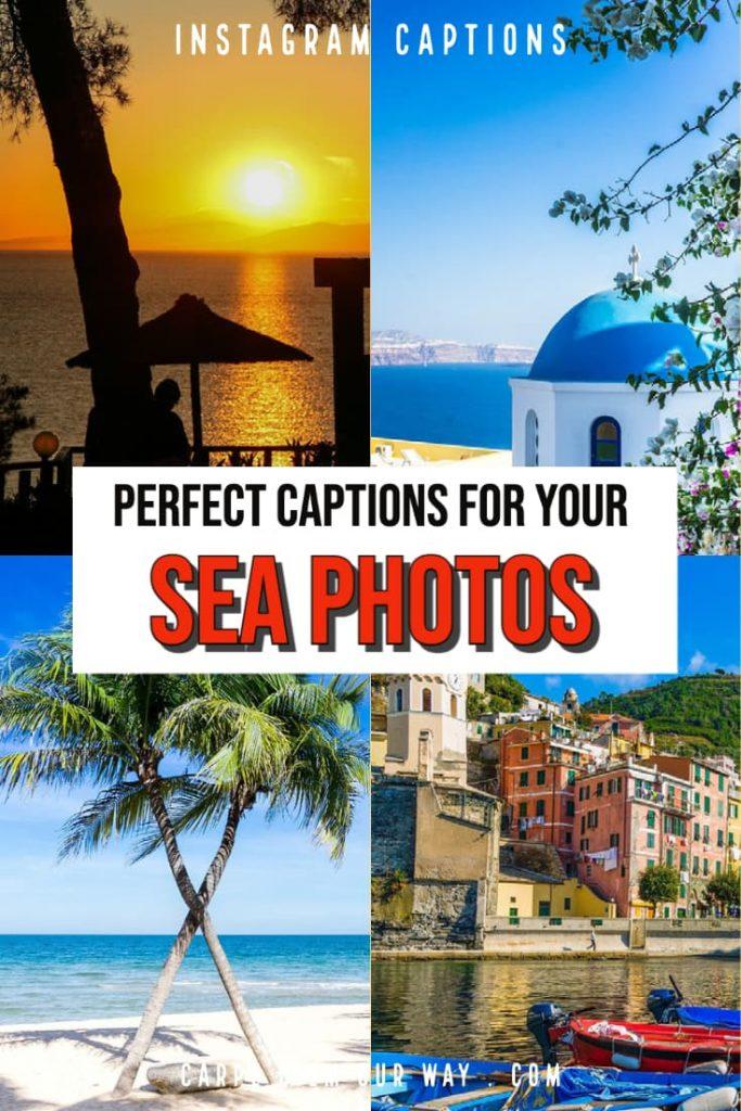 Sea captions for instagram photos