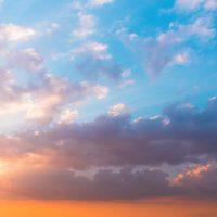 Blue sky captions for Instagram.