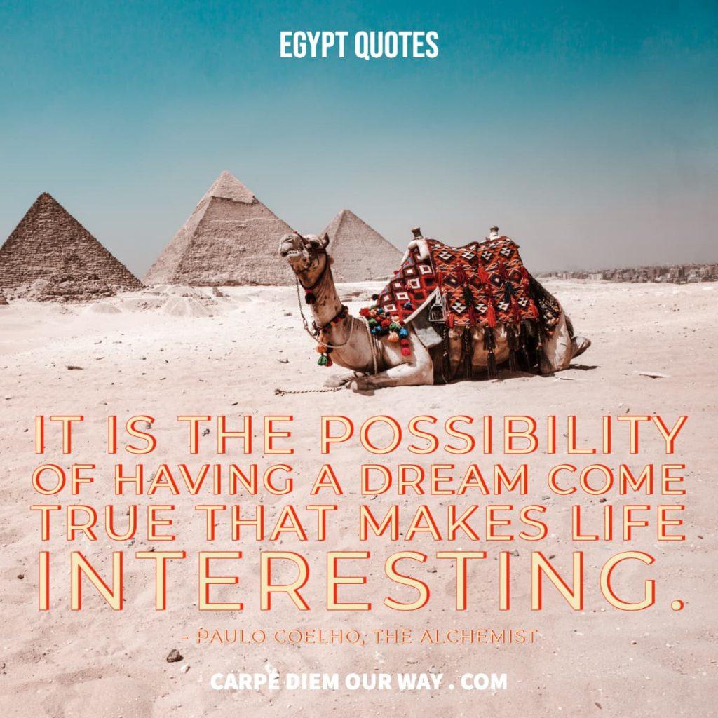Captions for Egypt.
