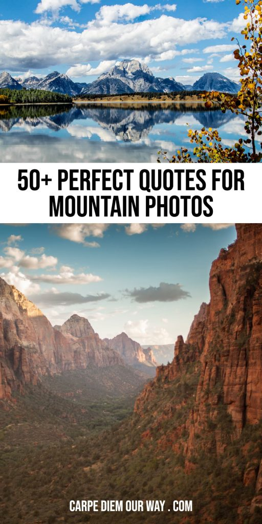 Perfect mountain instagram captions for your photos.