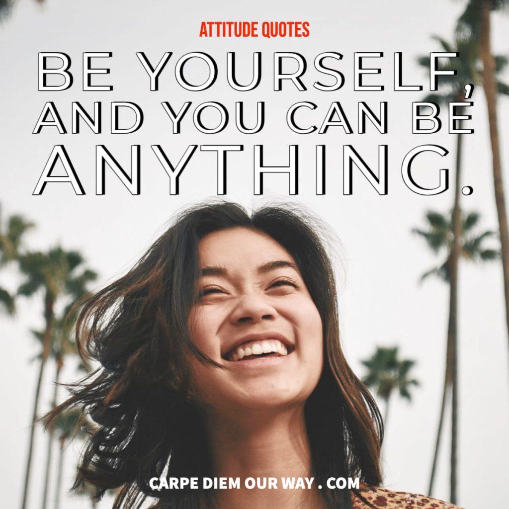 Attitude quotes for Instagram