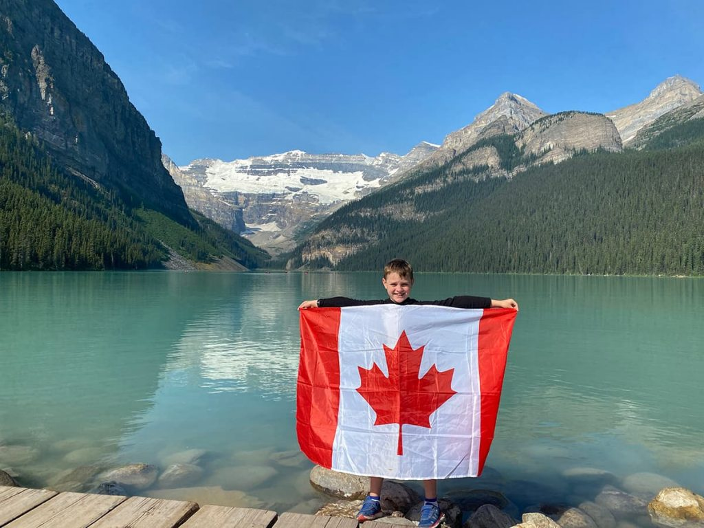 Canada with Kids - Lake Louise Banff National Park