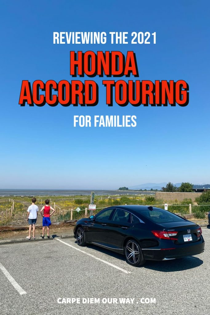 Honda Accord Touring Edition with Kids.
