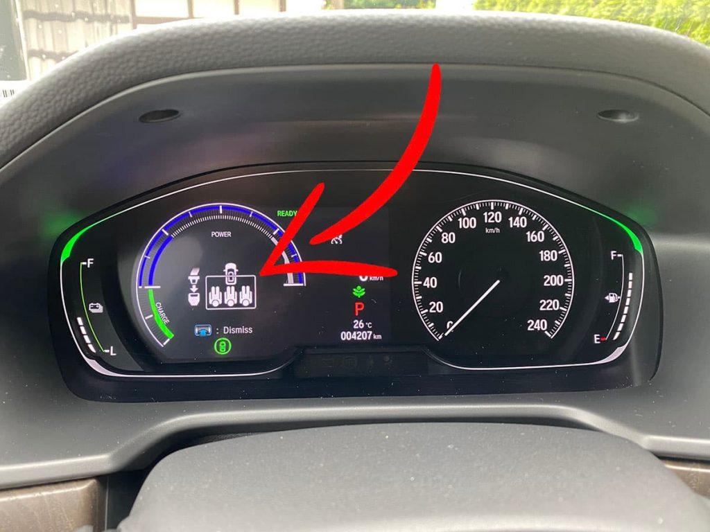 Honda Accord Seat Belt Safety.