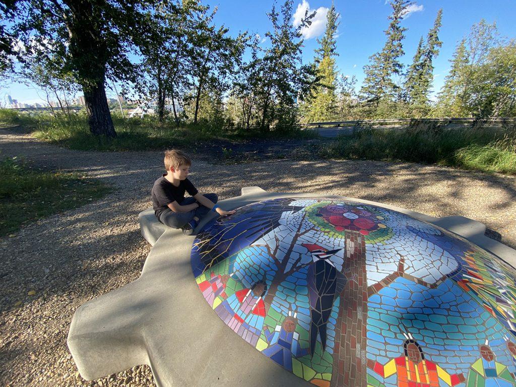 Edmonton - Indigenous Art Park with Kids