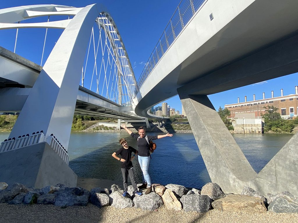 Edmonton Indigenous Experiences- River Bridge View