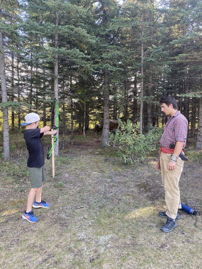 bow hunting metis experience
