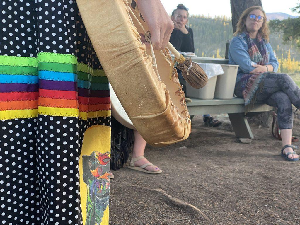 Jasper Indigenous Experiences - Warrior Women Drumming.